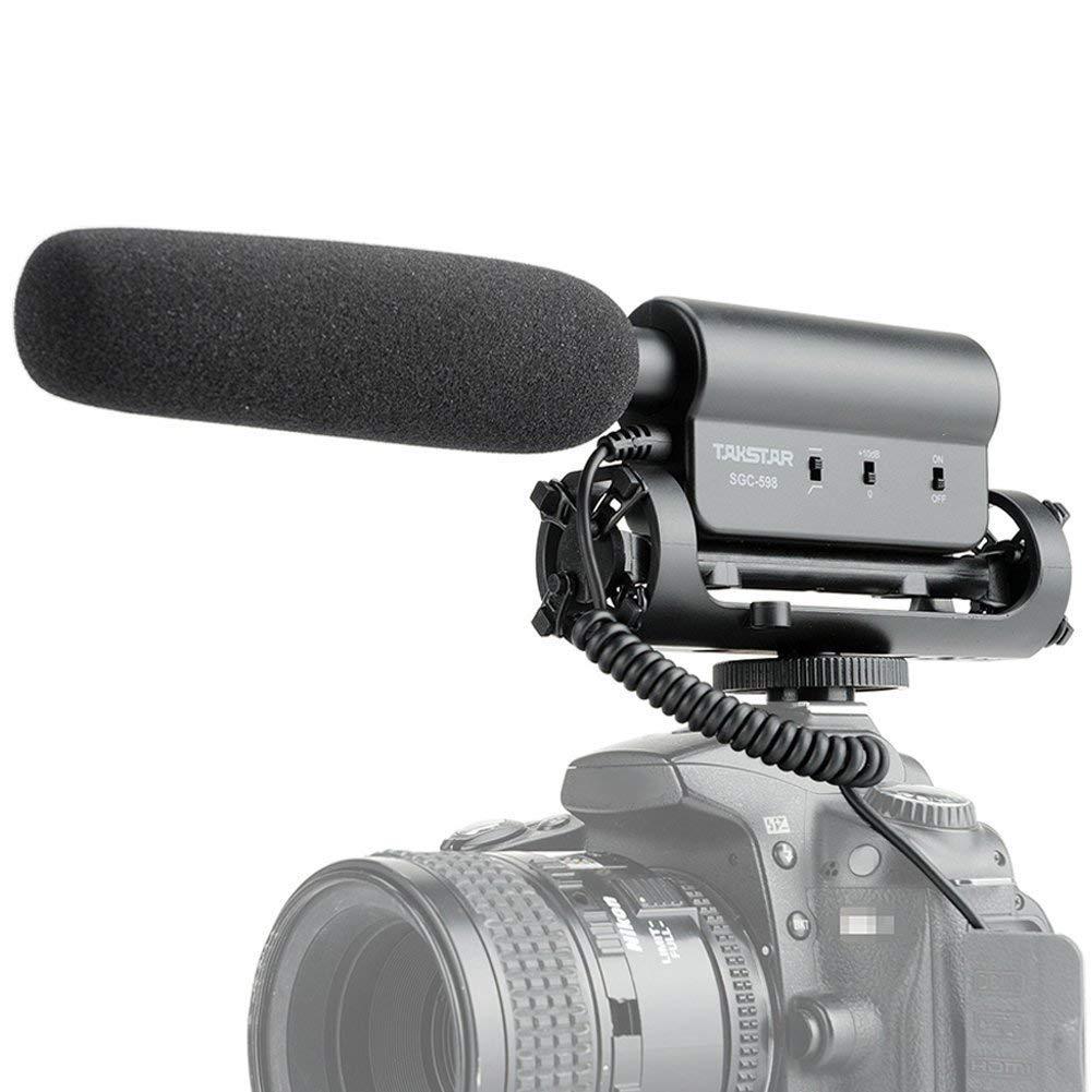 Micro quay phim phỏng vấn Takstar SGC-598