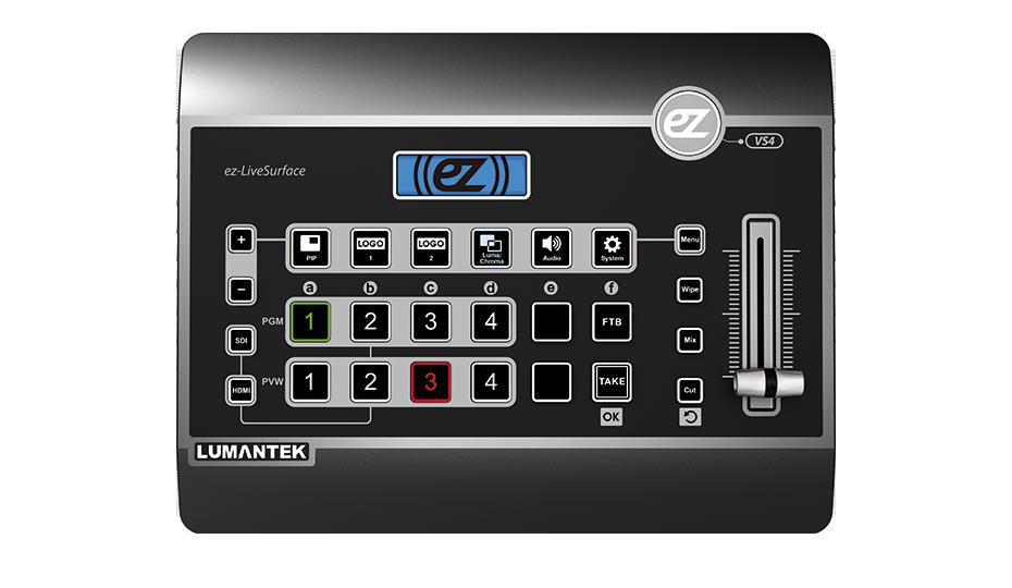 Bàn trộn Video Lumantek ez-Pro VS4