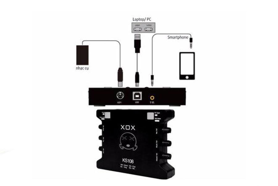 Card âm thanh XOX KS108