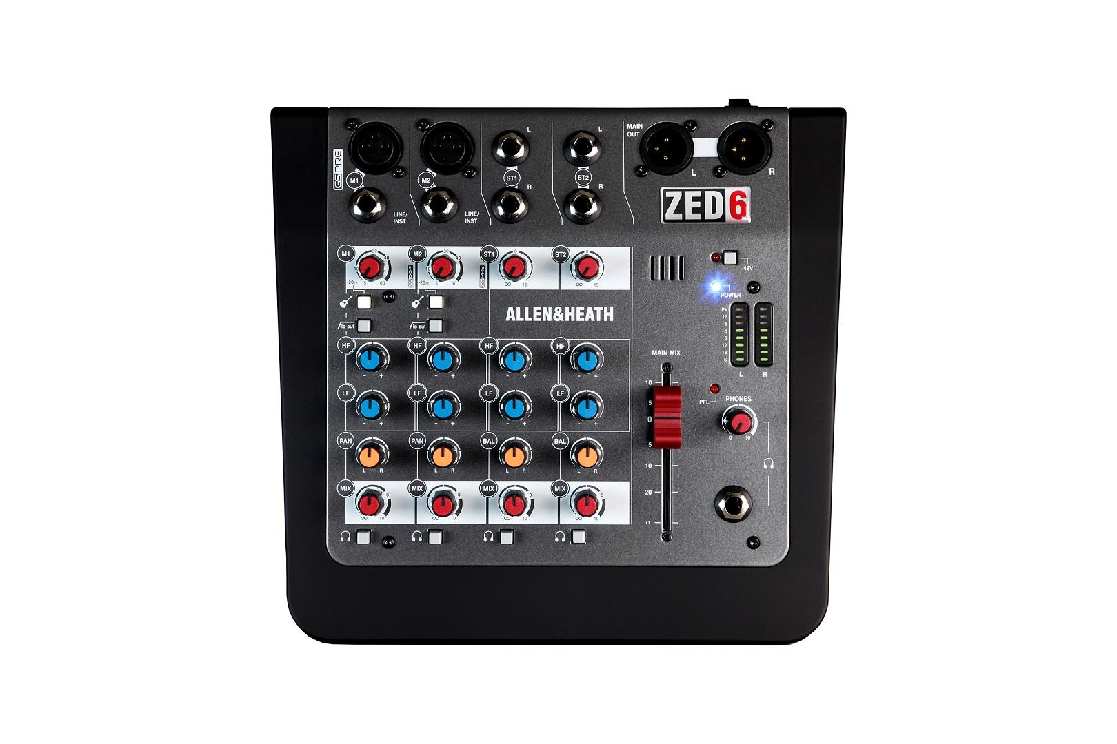 MixerAllen Heath ZED 6