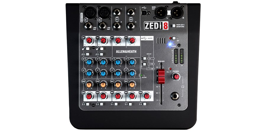 Mixer  Allen & Heath ZED i8