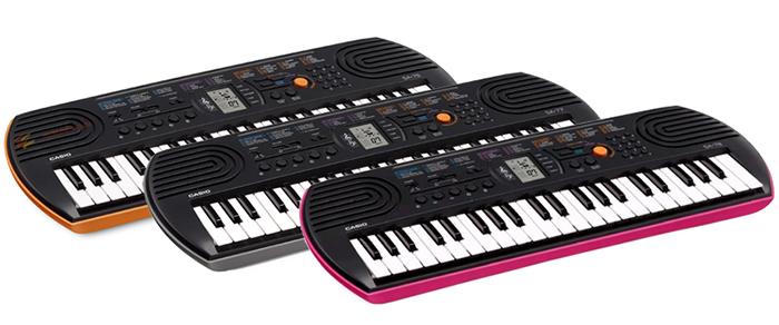 Đàn Organ Casio SA-76/SA-77/SA-78