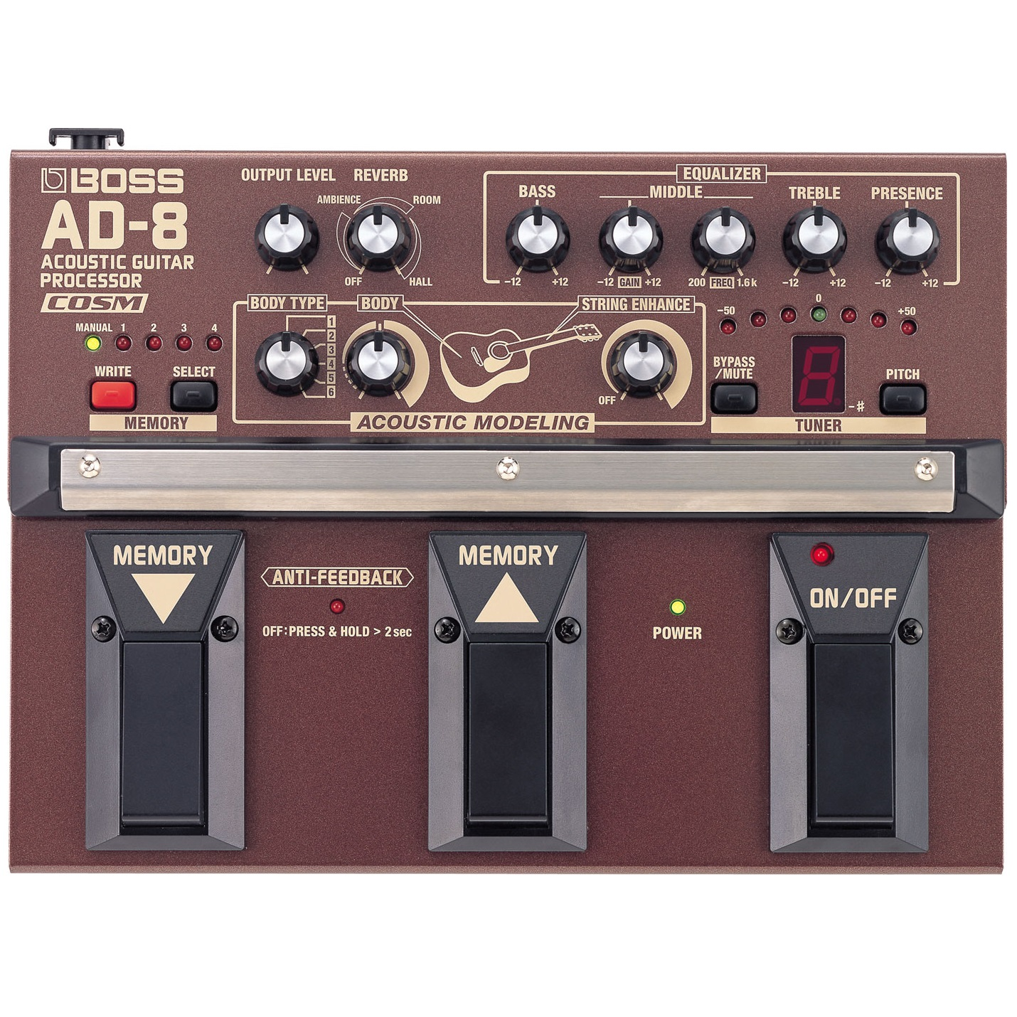 Boss AD-8 Acoustic Guitar Processor