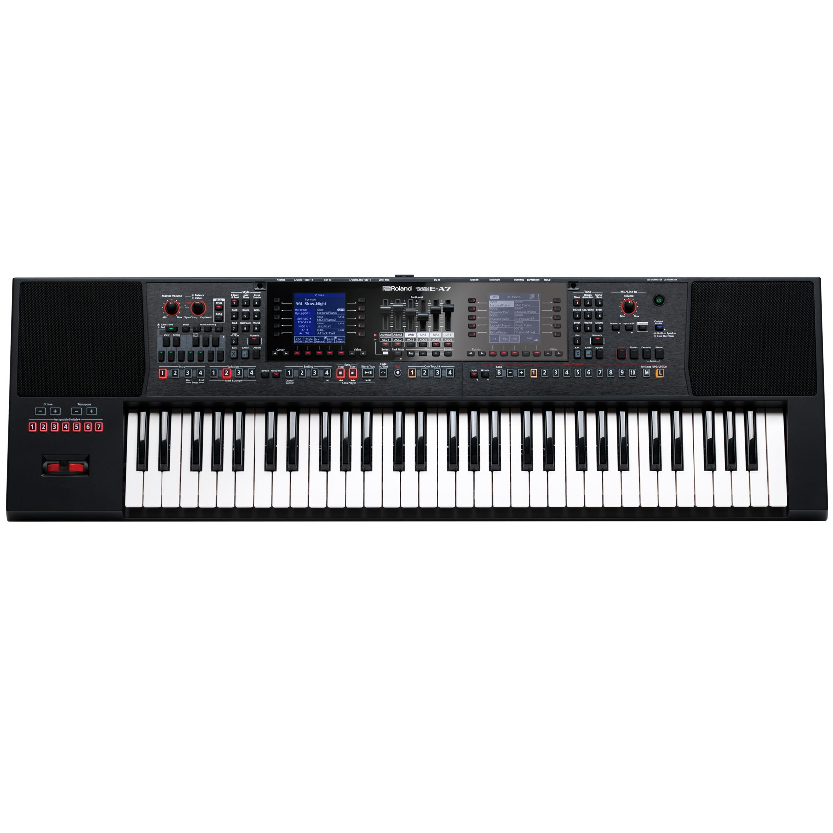 Roland E-A7 Expendable Arranger Keyboard