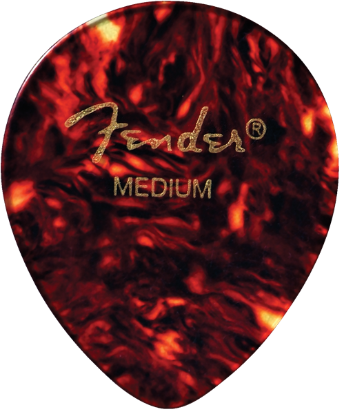 Fender 347 Shape Classic Celluloid Picks - 12 Count