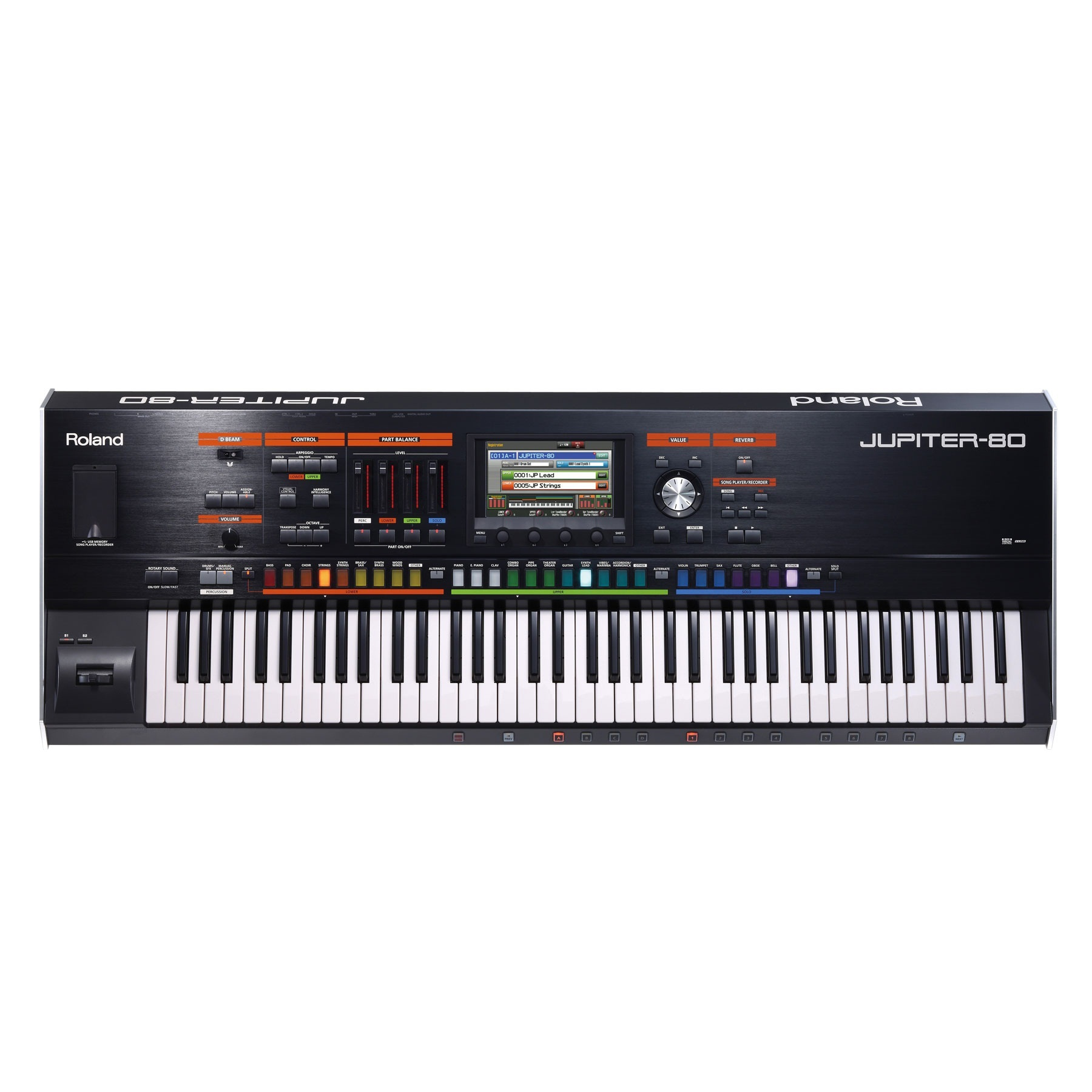 Roland JUPITER-80 Synthesizer Keyboard