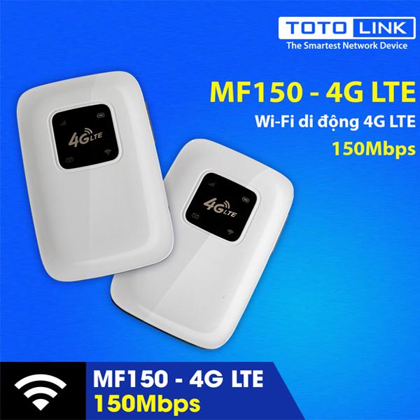 BỘ PHÁT WIFI 4G TOTOLINK MF150 SIÊU KHỦNG
