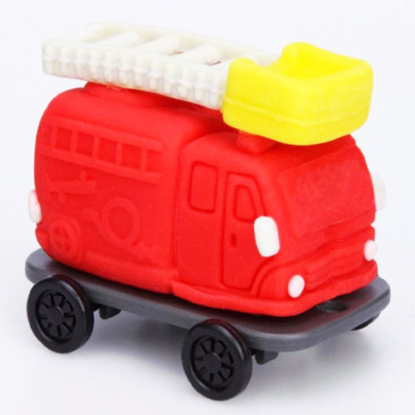 """Bộ đồ chơi đất nặn bằng bột gạo mẫu """"Mô hình xe cứu hỏa"""" GINCHO"""