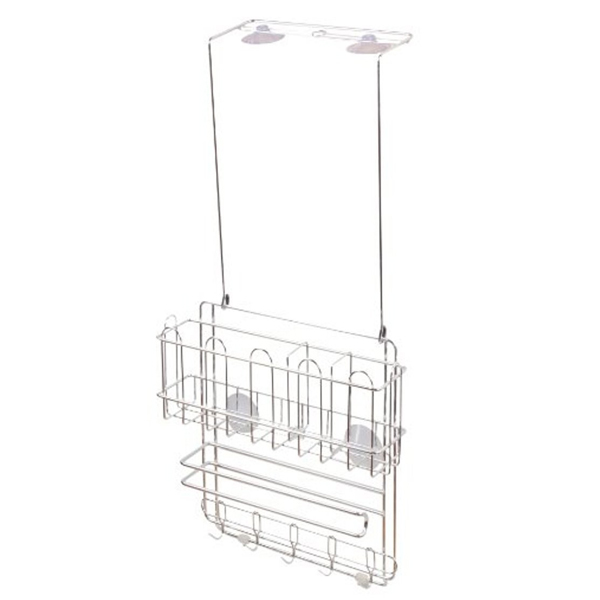 Kệ Inox đa năng 3 tầng đựng đồ nhà bếp treo hông tủ lạnh, tủ bếp, để bàn nhập khẩu nhật bản