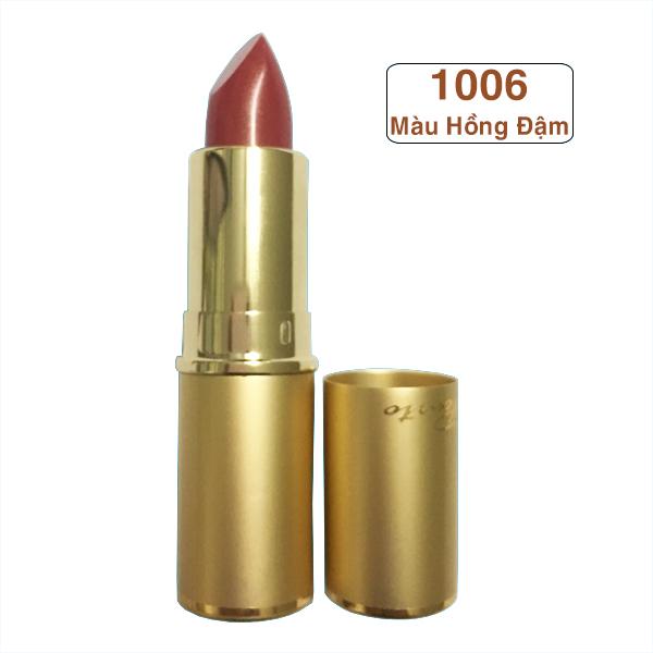 Son  môi  cao cấp Pourto A màu hồng đậm Mã 1006 sản xuất tại Nhật bản