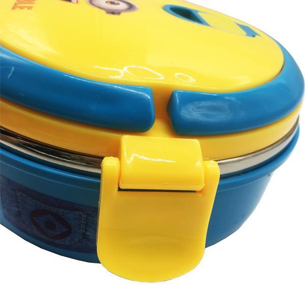 Cặp lồng cơm inox giữ nhiệt 1 tầng hình minion siêu yêu cho bé