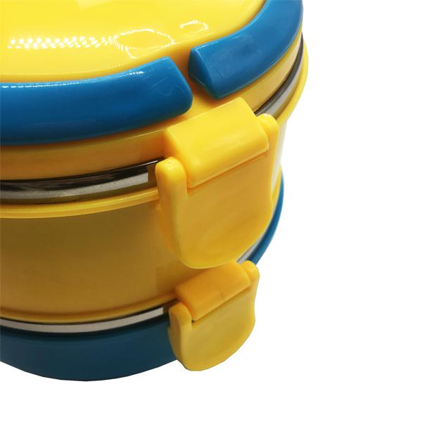 Cặp lồng cơm inox giữ nhiệt 2 tầng hình minion siêu yêu cho bé