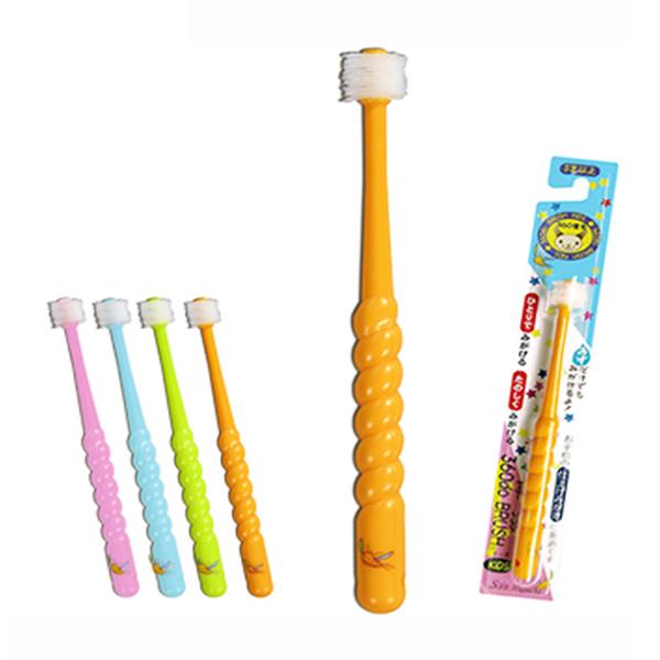 Bàn chải đánh răng 360 độ Higuchi cho trẻ dưới 3 tuổi hàng nhật