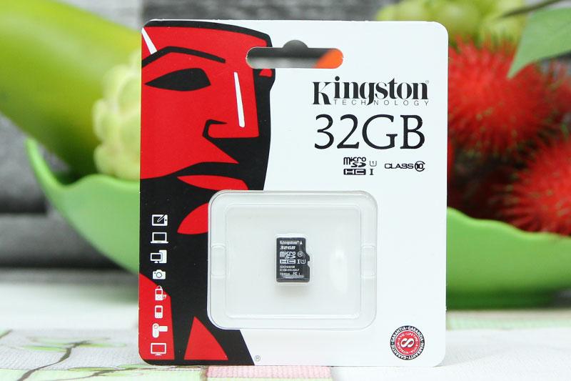 Thẻ nhớ Kingston MicroSD  32GB ( Class 10 ) chuyên dụng cho camera IP, điện thoại, máy ảnh