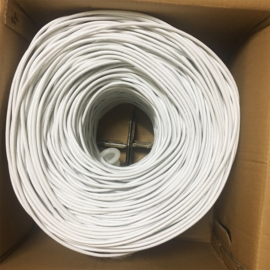 Cuộn dây mạng Cat 5E SFTP LB-LINK  Botroom bọc bạc chống nhiễu( dây màu trắng )