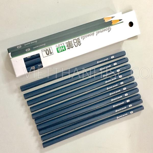 Set 10 bút chì cứng HB