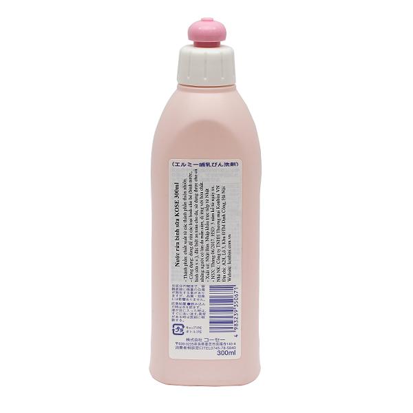 Nước rửa bình sữa KOSE 300ml chiết xuất từ thiên nhiên