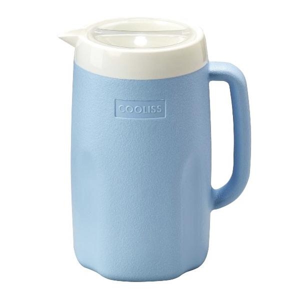Bình nước giữ nhiệt 1,8L màu xanh
