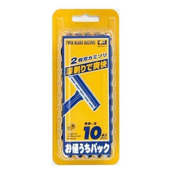 Set 10 dao cạo KAI Nhật Bản