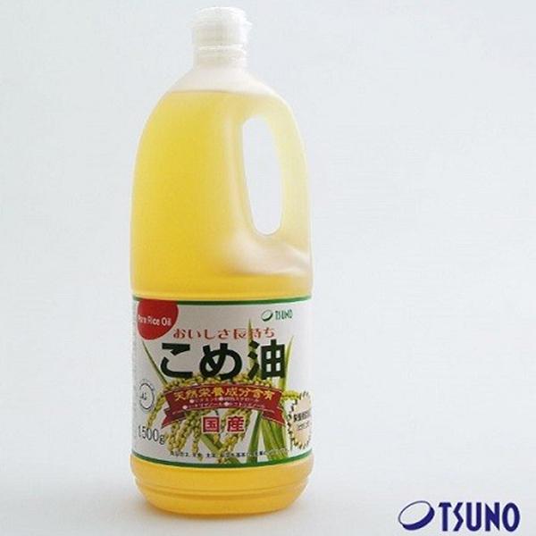 Dầu gạo cao cấp Nhật bản Tsuno 1500kg