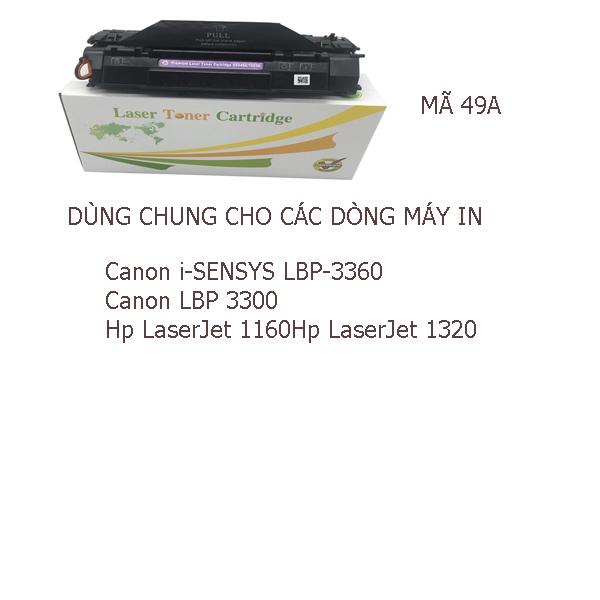 Hộp mực HP49A/53A, HP P1160/1160LE/1320/1320n/1320t/1320tn/ P2015/ P2015D