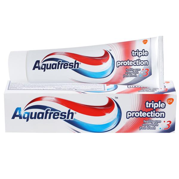 Kem đánh răng hương trà xanh Aquafresh 140g