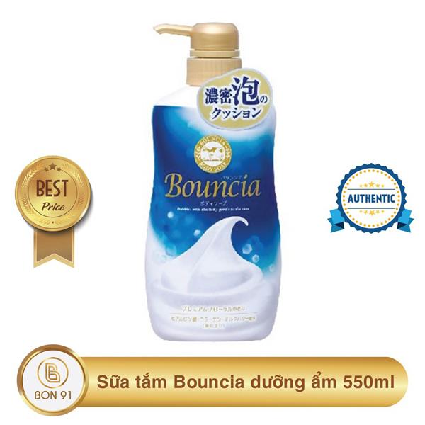 Sữa tắm Bouncia  550ml hương hoa hồng