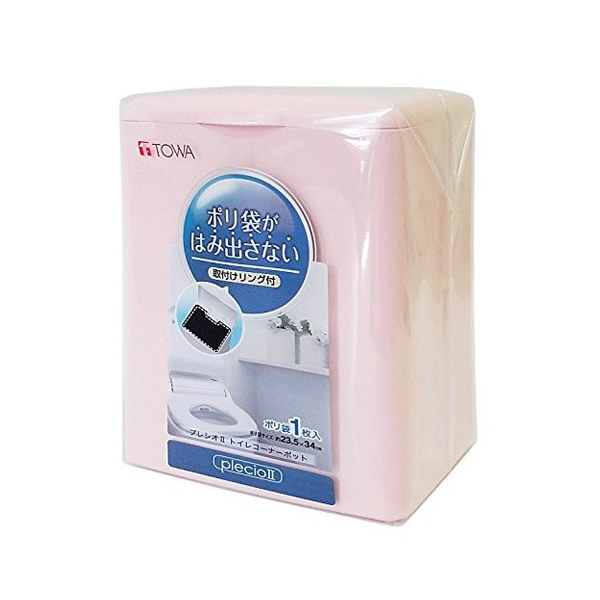 Thùng rác toilet TOWA (màu hồng)