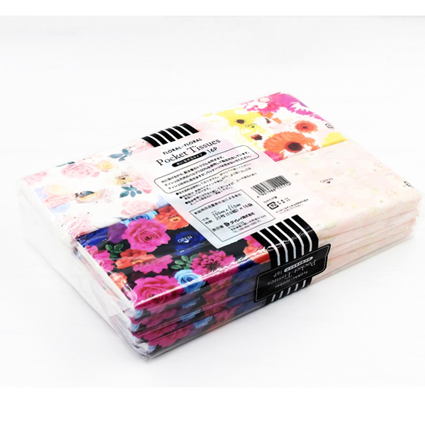 Set 16 khăn giấy bỏ túi hình hoa