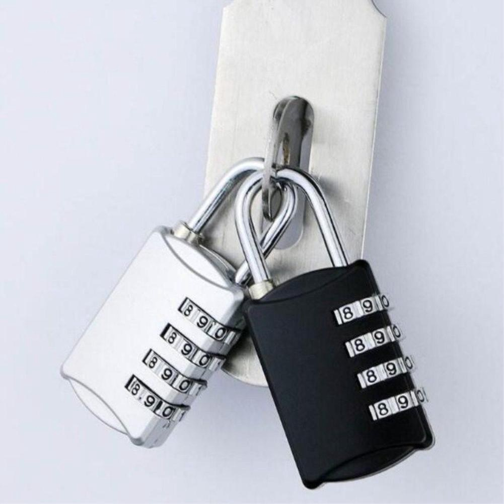 ổ khóa mật mã hành lý : vali, túi xách, tủ đồ, ví... gồm 3 dãy số bảo mật cao  nhỏ gọn