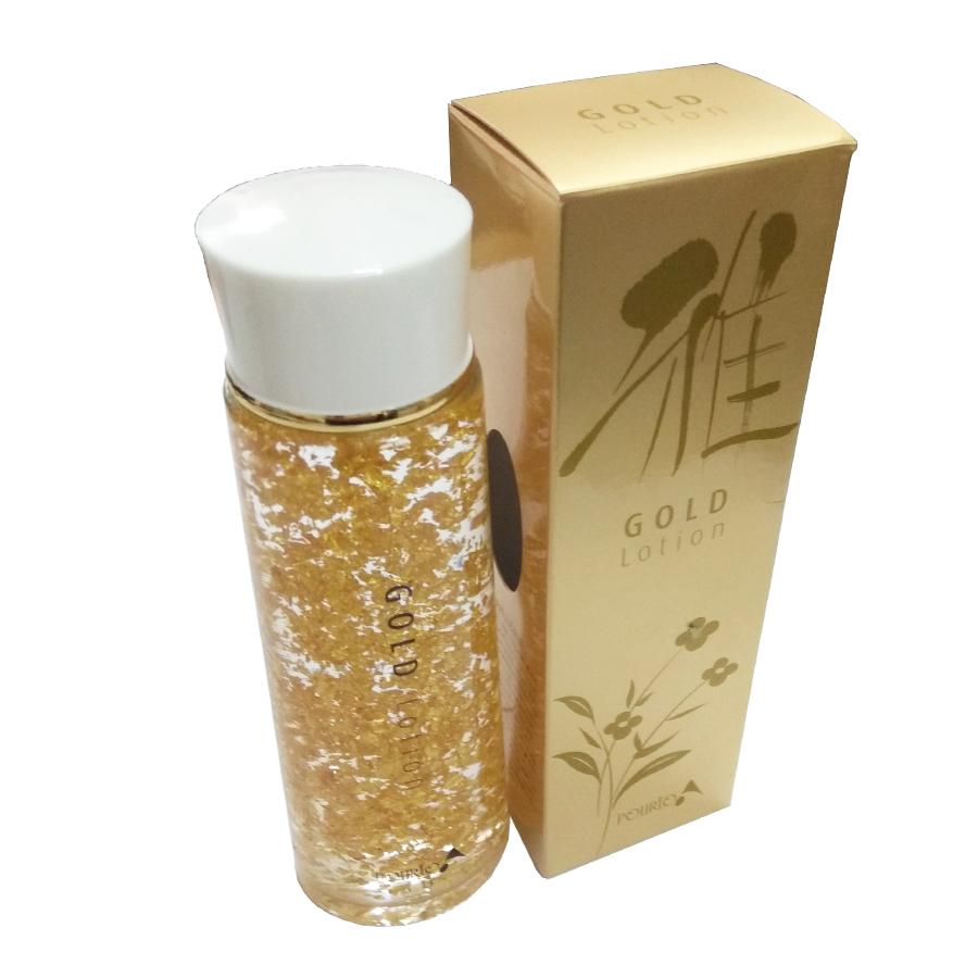 Hàng Nhật - Tinh chất dưỡng da vảy vàng Gold Lotion Pourto A dưỡng ẩm tái tạo da