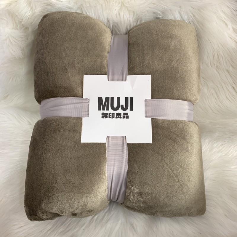 Chăn lông tuyết MUJI Nhật bản siêu mềm kích thước 1.8 mét - 2 mét
