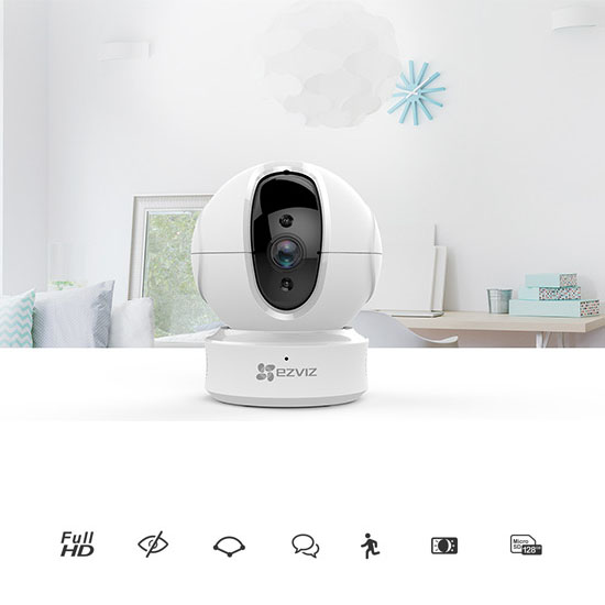 Camera wifi xoay 360 EZVIZ CS-C6N-A0-1C2WFR 2.0MP