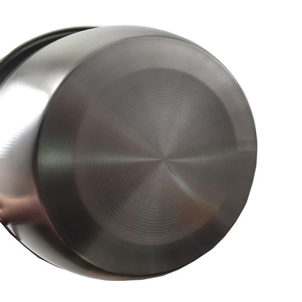 Chậu INOX 301 loại dày cỡ 24cm Hoàng Gia