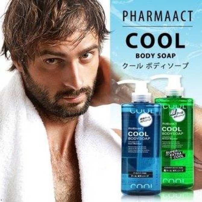 Sữa tắm Cool Body Soap dành cho nam 600ML hàng nhật bản