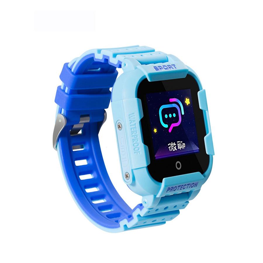 Đồng hồ định vị trẻ em KT03 Hỗ trợ wifi+Sim+LBS+GP+GPS+AGPS+chống nước IP67+camera+màn hình cảm ứng