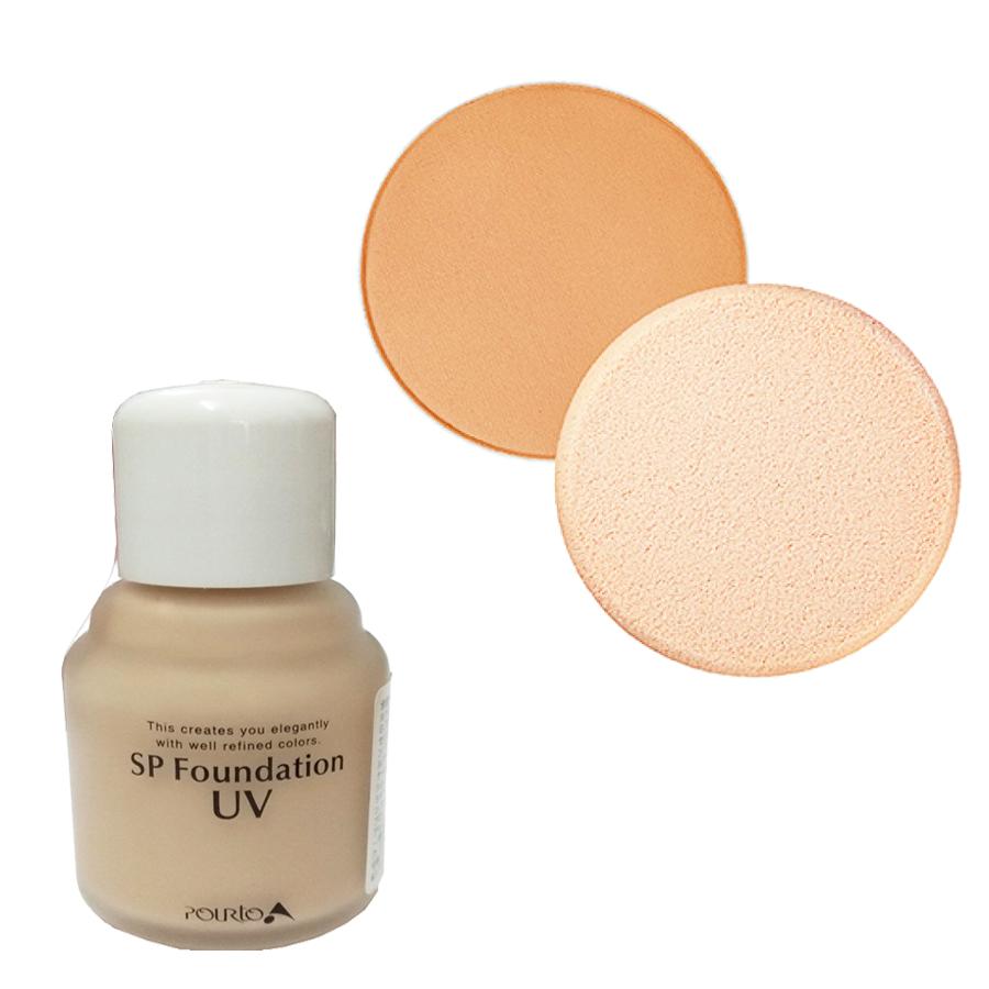 Kem nền chống tia UV dạng lỏng Pourto A cho lớp make up thêm hoàn hảo - tông sáng