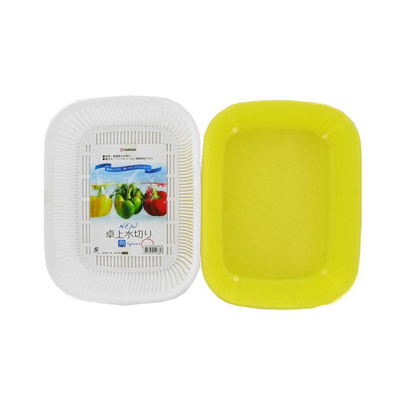 Giá đựng hoa quả 2 lớp hình chữ nhật nhập khẩu nhật bản