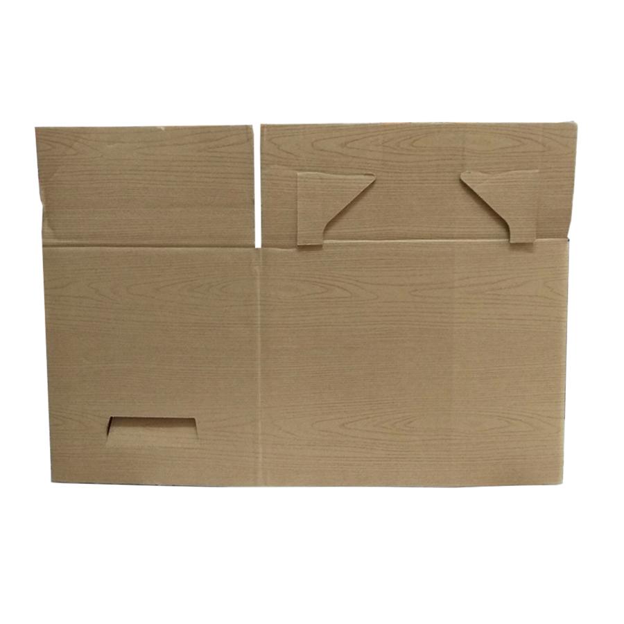Hộp đựng đồ đa năng vân gỗ cỡ to bằng bìa caton( Có nắp ) hàng nhật nhập khẩu