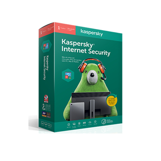 Kaspersky Internet Security 1PC/ năm - Phần mềm diệt virus