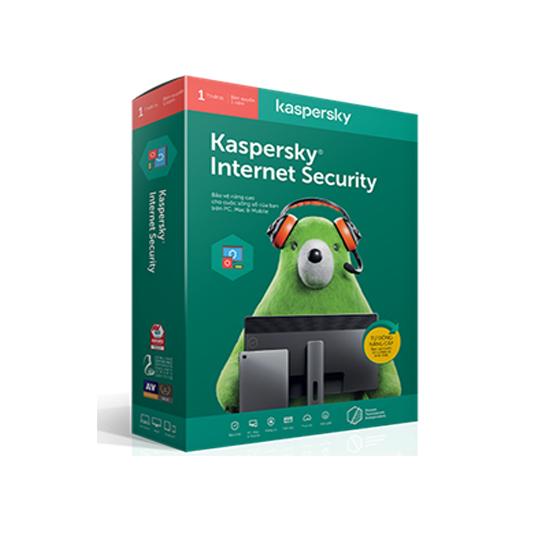 Kaspersky Internet Security - Phần Mềm Diệt Virus KIS Bản 2020 cho 5 Máy