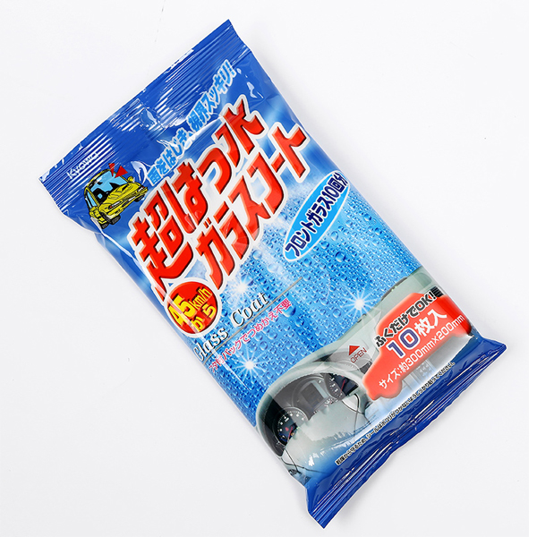 Khăn giấy ướt lau gương kính ôtô chống bám nước 10 chiếc