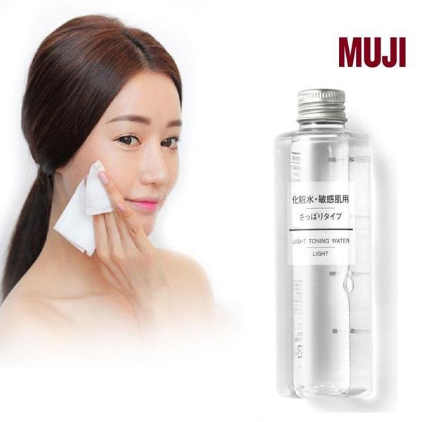 Nước hoa hồng dưỡng ẩm Muji Light Toning Water (cho da dầu)