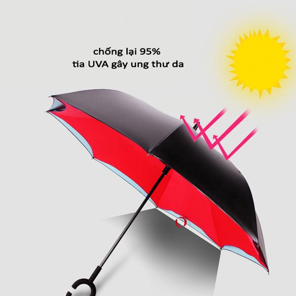 Ô gấp ngược thông minh chống tia UV 95%