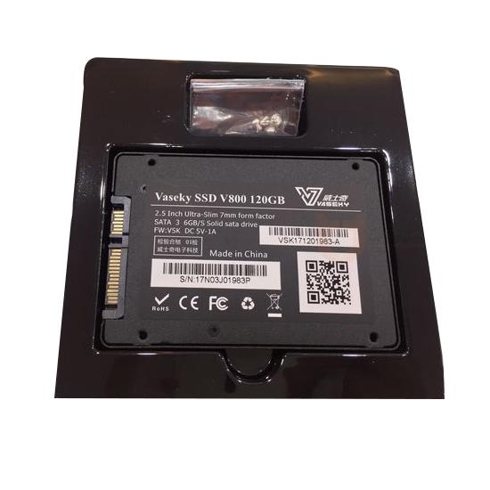 Ổ Cứng SSD Vaseky 120GB - V800 chuẩn sata3 - Bảo Hành 3 Năm