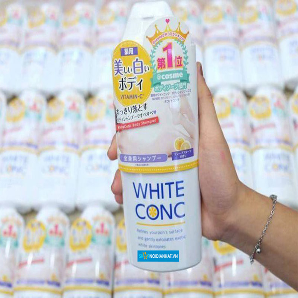 Sữa tắm trắng da White Conc Body 360ml