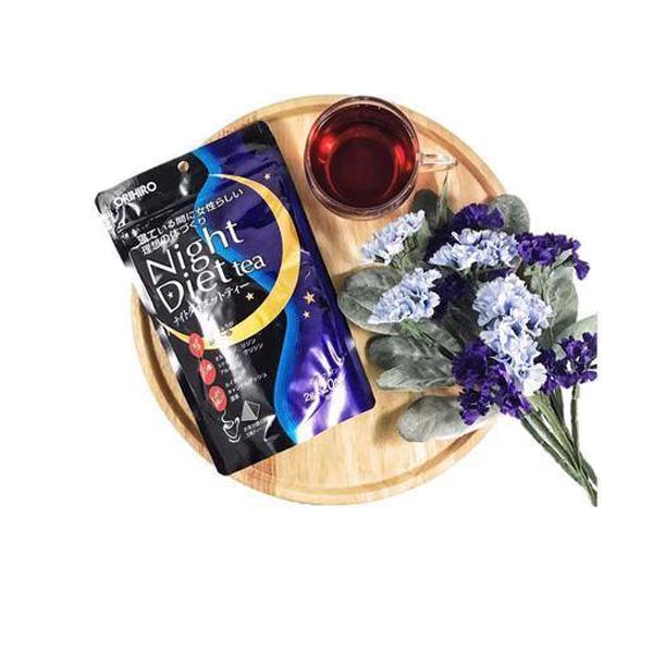 Trà Giảm Cân ORIHIRO Nhật Night diet tea ( 20 gói )