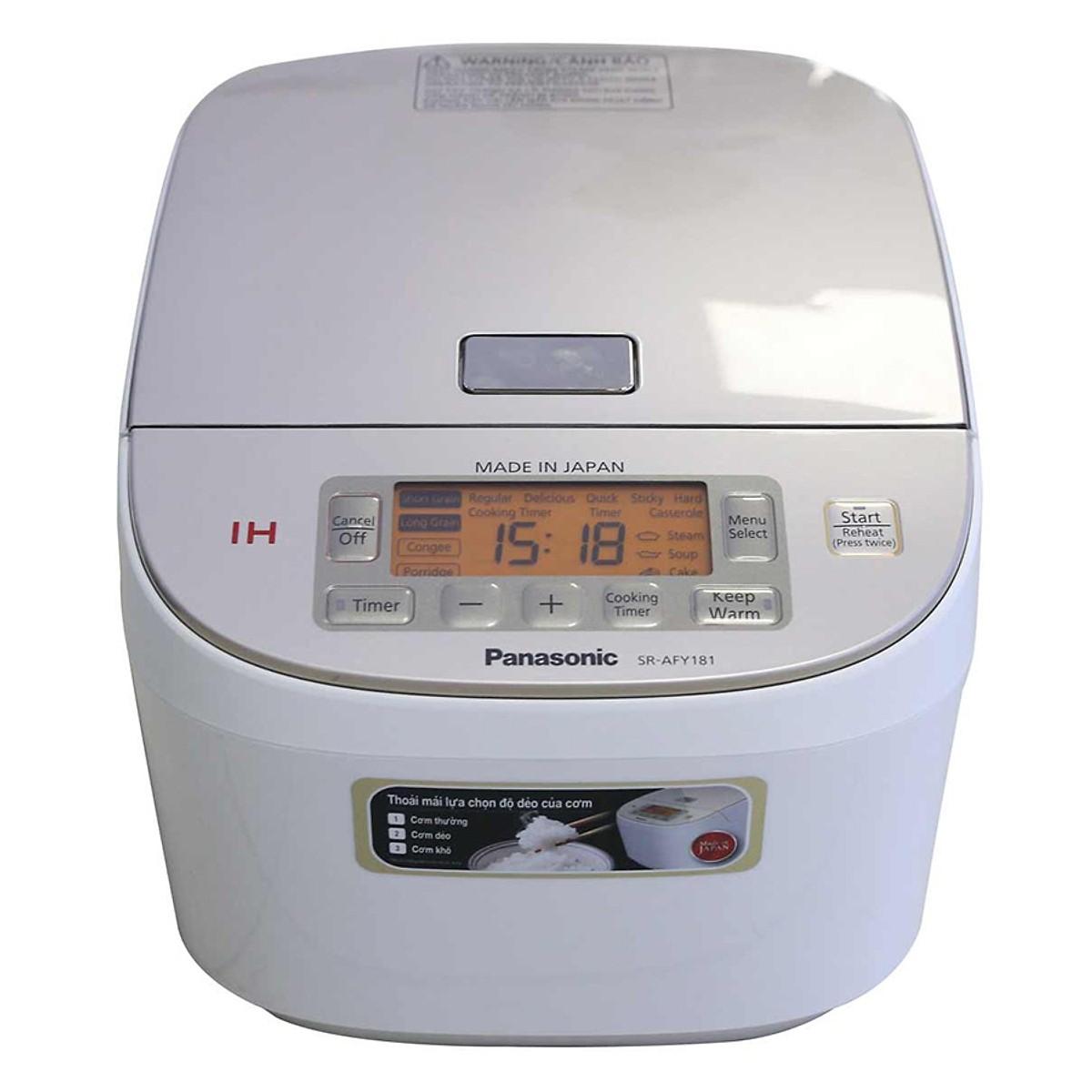 Nồi cơm điện cao tần Panasonic PANC-SR-AFY181WRA