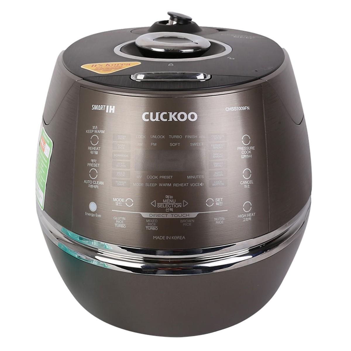 Nồi Cơm Cao tần Áp Suất Cuckoo CRP-CHSS1009FN