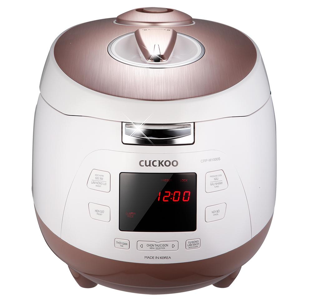Nồi cơm áp suất điện tử Cuckoo CRP-M1000S